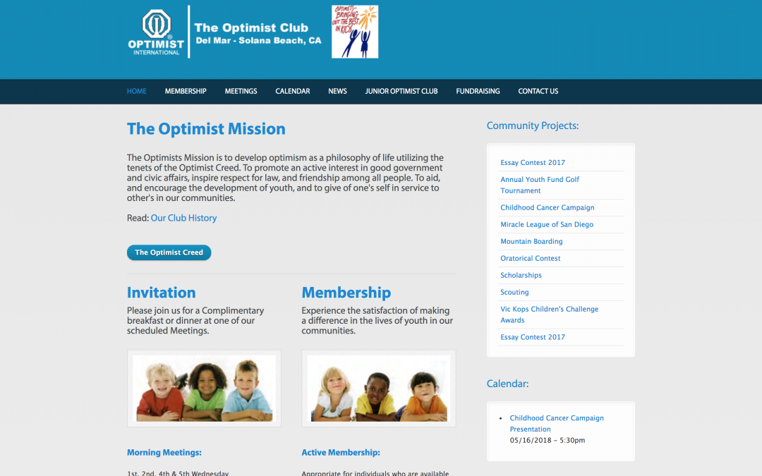 Non-Profit Optimist Club