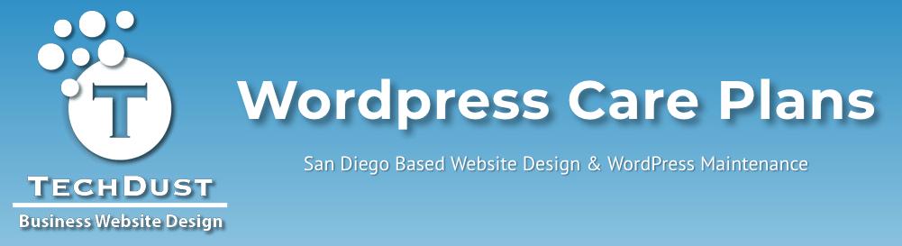 WordPress Website Maintenance Care Plans